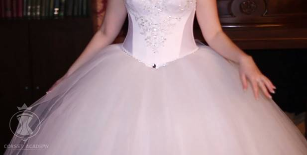 How To Sew Princess Ball Gown Wedding Skirt Diy Sewing Tutorial Corset Academy